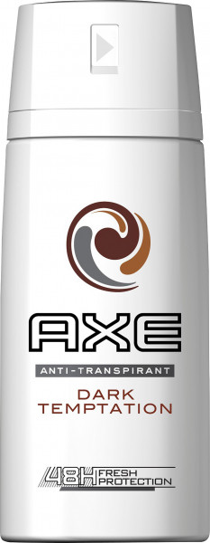 3x Axe Fresh Protection Dry Dark Temptation Deospray for men je 150ml