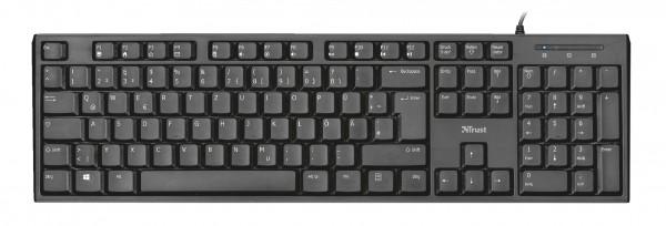 Trust Vida Multimedia Keyboard Tastatur