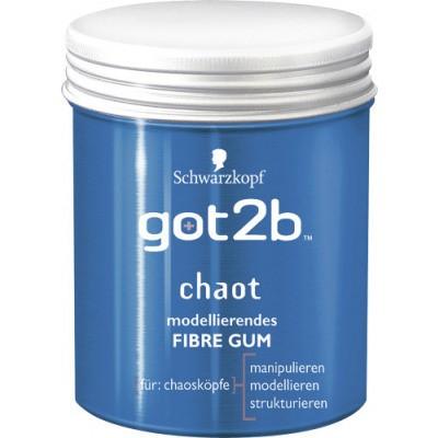 3 x got2b modellierendes Fibre Gum chaot chaosköpfe je 100 ml