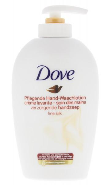 3 x Dove Fine Silk Hand-Waschlotion mit weißen Orchideenduft je 250ml