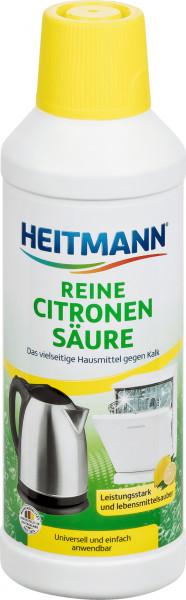 2 x Heitmann Reine Citronensäure je 500ml Entfernt Kalk