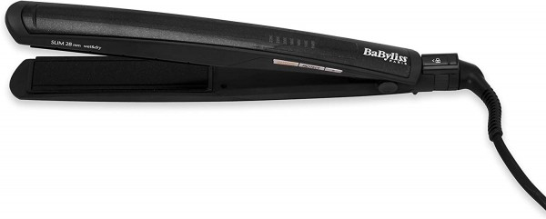 BaByliss ST327E Glätteisen Slim 28mm Intense Protect Digital Wet and Dry