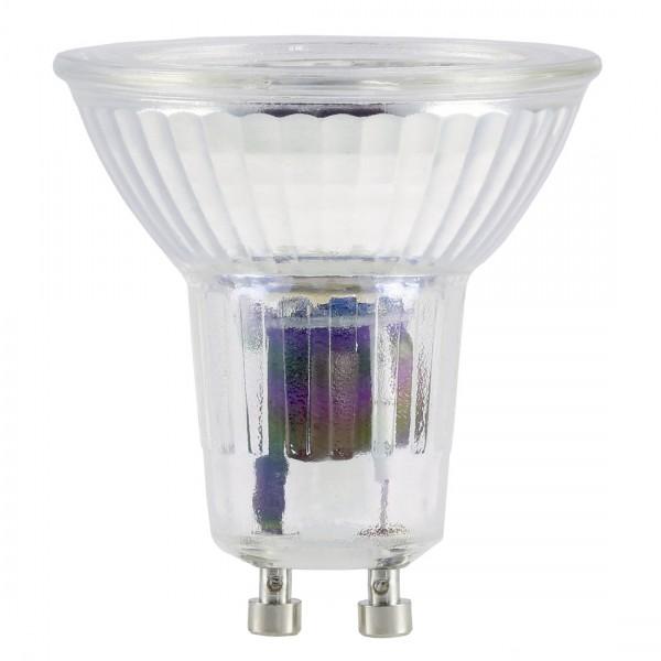 Xavax LED-Lampe GU10 400lm ersetzt 50W Reflektorlampe PAR16 Warmweiß Glas
