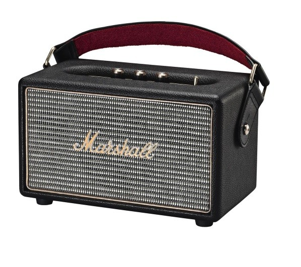 Marshall Kilburn II black Tragbarer Bluetooth-Lautsprecher