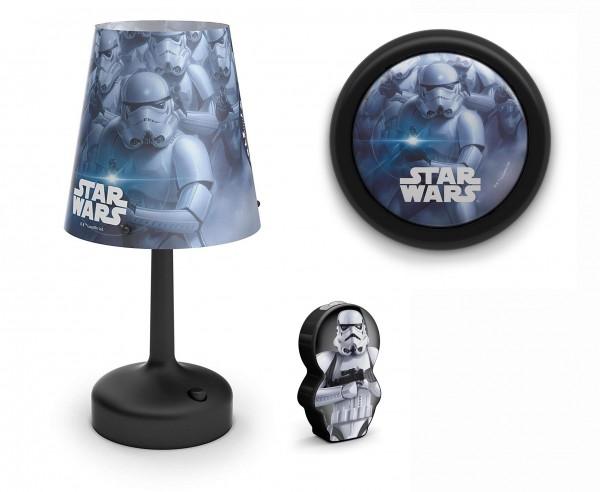 Philips Star Wars Set Tischleuchte & Nachttischlampe & Taschenlampe