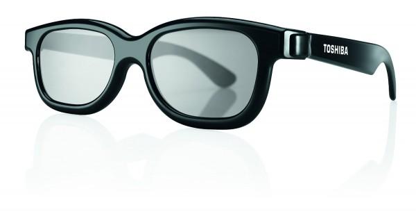 Toshiba 3D Brillen PX1821E-1TVA Family Pack 2 für Erwachsene&2 für Kinder