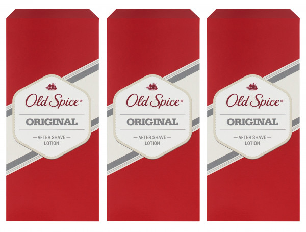 3 x Old Spice Original After Shave Lotion je 150ml