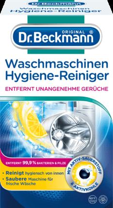 3x Dr. Beckmann Waschmaschinen Hygiene Reiniger je 250g