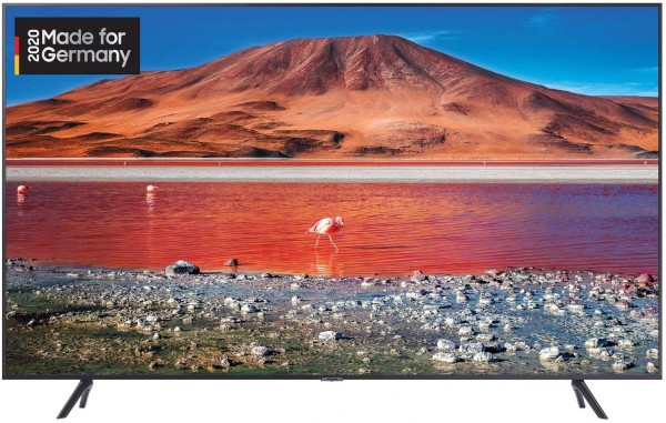 Samsung Crystal UHD 4K TV Carbon-Silber 65 Zoll GU65TU7199UXZG