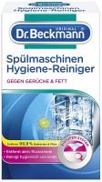 3 x Dr. BeckmannSpülmaschinen Hygiene Reiniger jeweils 75g+Feuchttuch