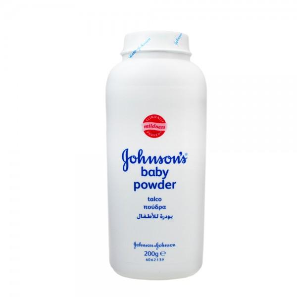 3x Johnson & Johnson Baby Puder je 200g Haut- Wundpflege