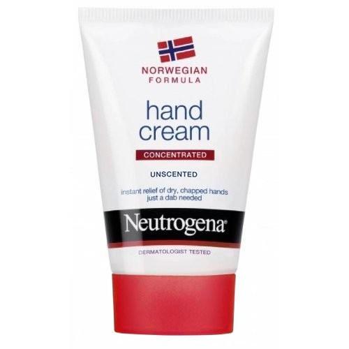 6 x Neutrogena Norwegische Formel unparfümierte Handcreme je 50ml