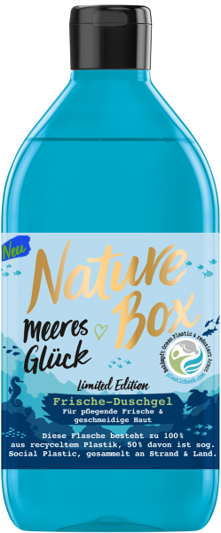 3 x Nature Box Meeres Glück Frische-Duschgel je 385 ml Limited Edition