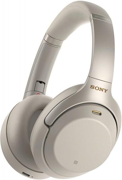 Sony Kopfhörer mit Noise Cancelling WH1000XM3 Silver