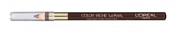 3x L\'Oreal Color Riche Le Khol Kajalstift 102 Pure Espresso