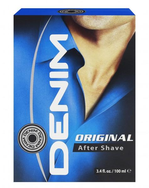 3x Denim Aftershave Original je 100ml/ Rasierwasser/ for Men