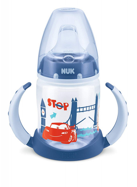 3x NUK Disney Cars First Choice Trinklernflasche je 150ml 6-18m