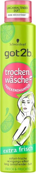 Got2b trocken Wäsche Trockenshampoo extra frisch und fruchtig 200ml