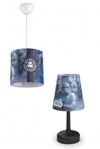 Philips Star Wars Pendelleuchte 717519916 & Star Wars Nachttischlampe