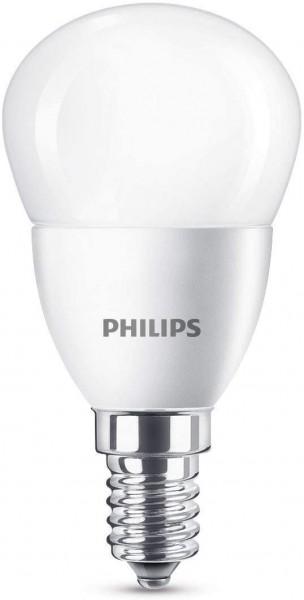 4 x Philips LED Lampe 5.5 W = 40 W 470 Lumen Sockel E14 Warm Weiß