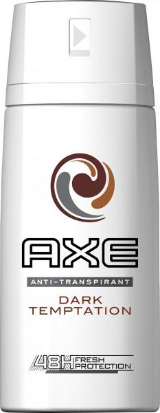 6 x Axe Fresh Protection Dry Dark Temptation Deospray for men 150ml