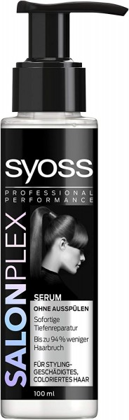 3 x Syoss Salonplex Serum für Styling geschädigtes coloriertes Haar je 100ml