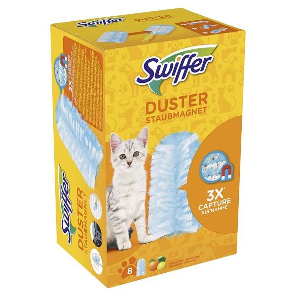 Swiffer Staubmagnet Tücher Nachfüllpackung 8 St. mit Citrusduft