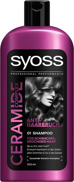 Syoss Shampoo Ceramide Complex 500ml Anti-Haarbruch