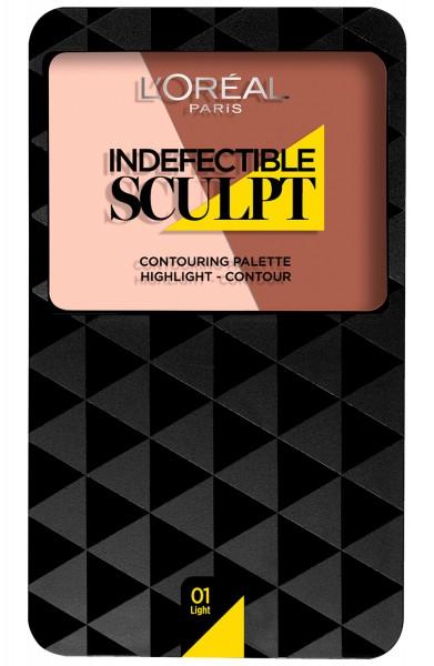 L\'Oreal Indefectible Sculpt Contouring Palette 01 Light 10g