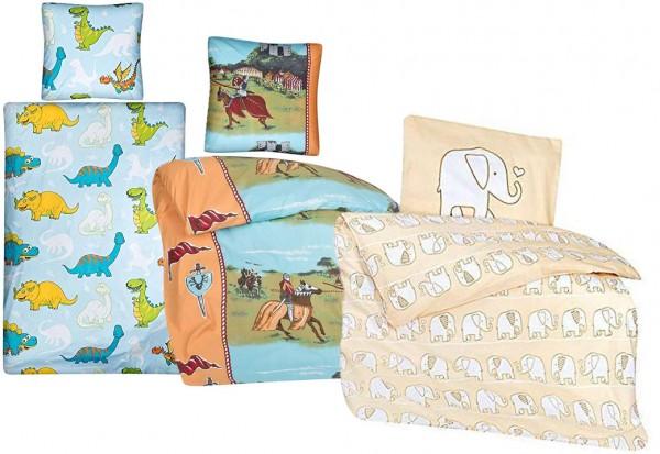 aminata Kinder-Bettwäsche Set verschiedene Größen und Design´s