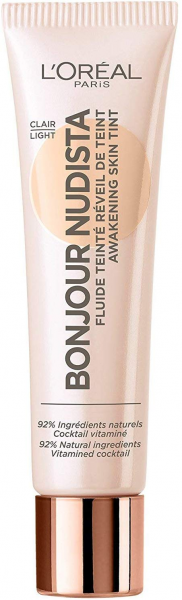 3 x L\'Oreal Bonjour Nudista BB Cream Clair Light je 30 ml