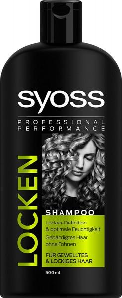 Syoss Locken Shampoo 500ml Für Gewelltes & Lockiges Haar