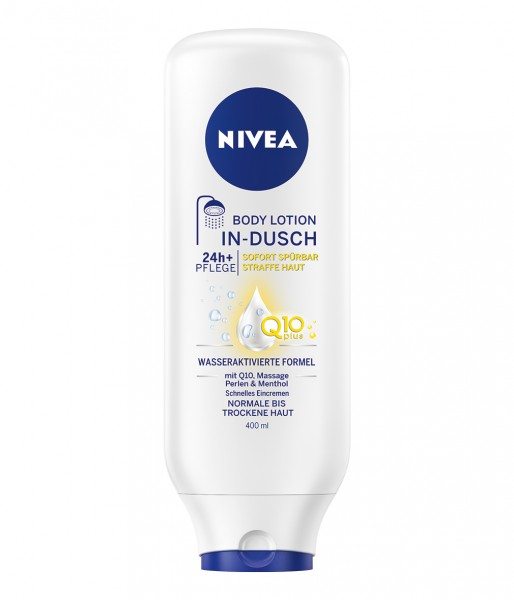 Nivea In-Dusch Body Lotion Q10 Plus hautstraffende Pflege 400ml