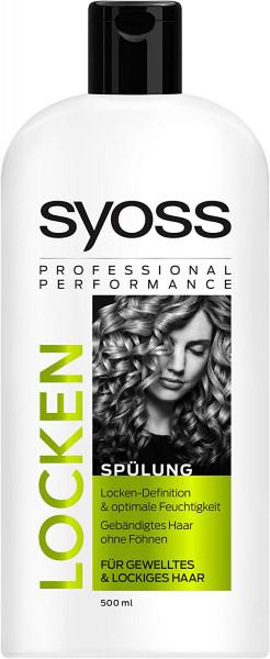 2x Syoss Professional Performance Spülung Locken je 500ml