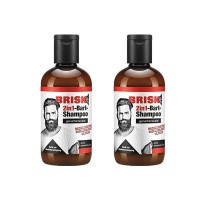 2x Brisk 2in1-Bart-Shampoo je 150 ml For Men Geruchsneutral