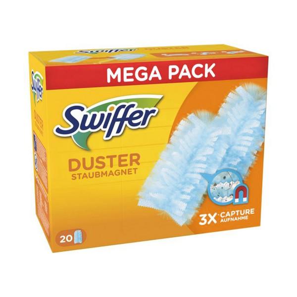 Swiffer Staubmagnet 20 Tücher Staubwedel ideal gegen Staub Tierhaare & Allergene Nachfüllpackung