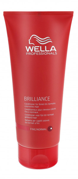 3 x Wella Brilliance Conditioner für feines bis normales & coloriertes Haar je 200 ml
