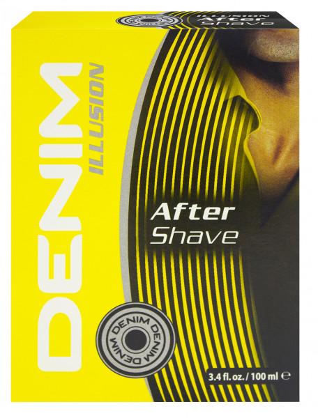 Denim Illusion Aftershave for men 100ml