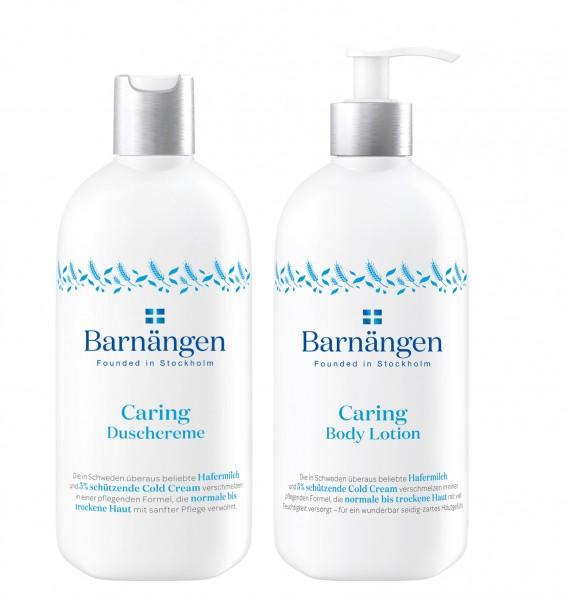 Barnängen Caring Duschcreme & Body Lotion je 400 ml normale bis trockene Haut
