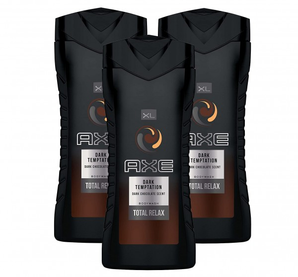 3 x Axe Duschgel Dark Temptation Total Relax XL je 400ml