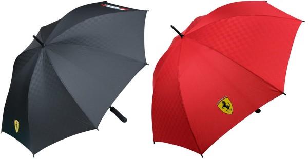 Scuderia Ferrari Stockschirme Regenschirme Rot & Schwarz