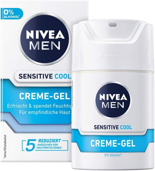 NIVEA MEN Sensitive Cool Creme Gel 50ml für empfindliche Haut