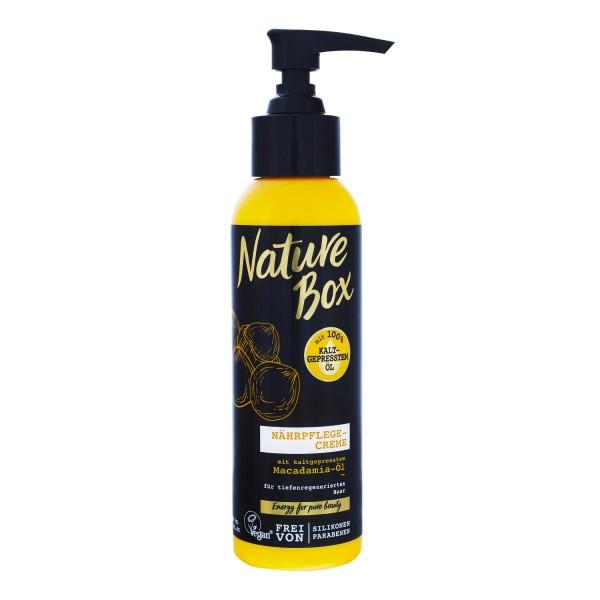 3 x Nature Box Macadamia-Öl Nährpflege-Creme je 150 ml