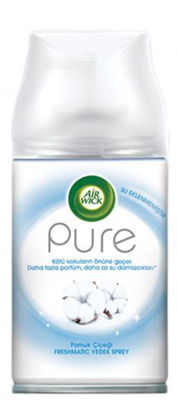 3 x Air Wick Freshmatic Refill Pure Nachfüller je 250ml Baumwolle