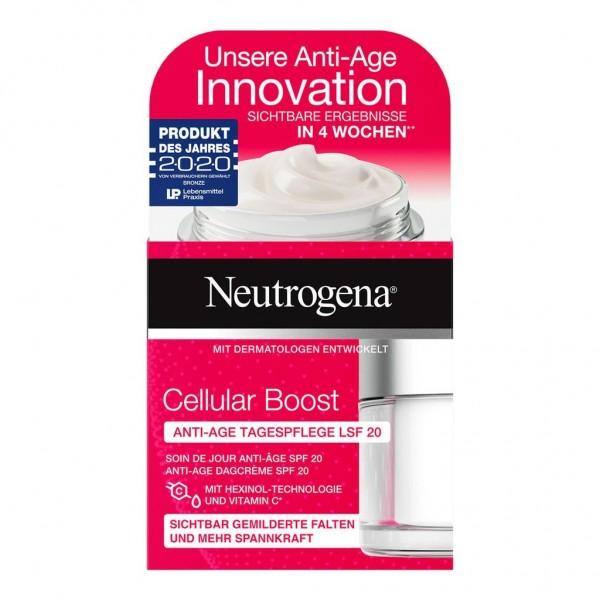 Neutrogena Cellular Boost Anti-Age Tagespflege Creme 50ml LSF 20