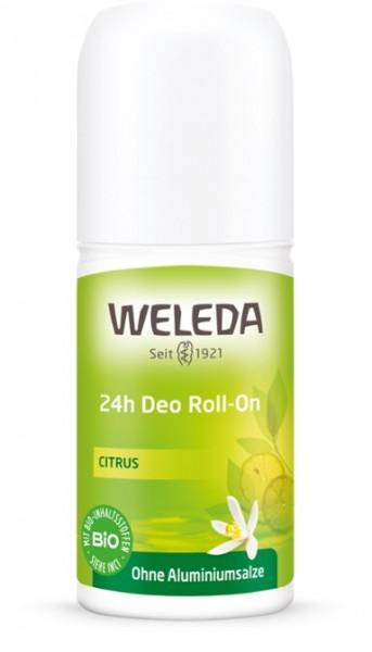 WELEDA Deo Roll-On Citrus 24h Deodorant 50ml ohne Aluminiumsalze Naturkosmetik