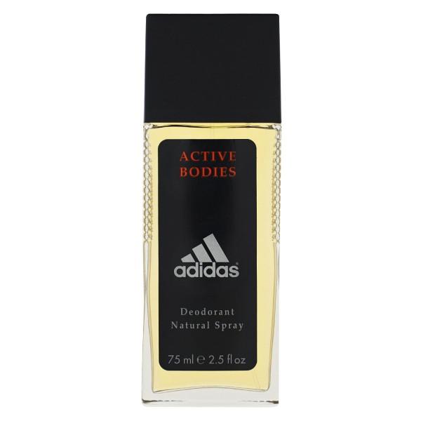 adidas Active Bodies Deodorant Natural Spray 75ml fruchtige und holzige Noten