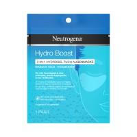 Neutrogena Hydro Boost 2in1 Hydrogel Tuch Augenmaske gegen Schwellungen 1 Paar