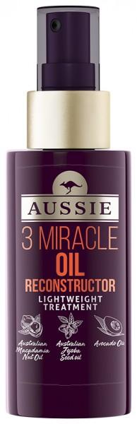 Aussie 3 Miracle Oil Reconstructor für strapaziertes Haar 100 ml