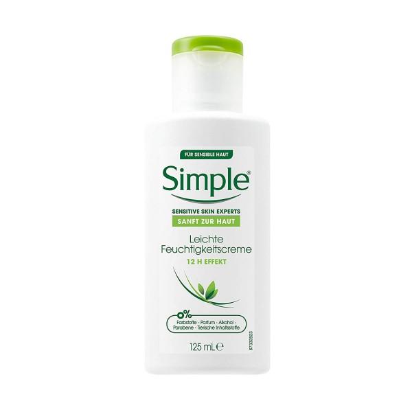 Simple Gesichtspflege Leichte Feuchtigkeitscreme 125ml Sensitive Skin Experts